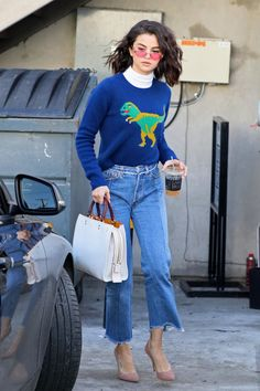 See the actress's best street style looks:
