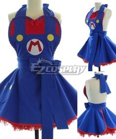 Mario Adorable Fashion Cotton Household Apron Cosplay #Everyone Can Cosplay! Cosplay costumes #Anime Cosplay Accessories #Cosplay Wigs #Anime Cosplay masks #Anime Cosplay makeup #Sexy costumes #Cosplay Costumes for Sale #Cosplay Costume Stores #Naruto Cosplay Costume #Final Fantasy Cosplay #buy cosplay #video game costumes #naruto costumes #halloween costumes #bleach costumes #anime