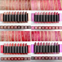 #Swatches of the @COVERGIRL Colorlicious Lipstick Collection! @BeautywithEmilyFox