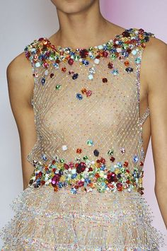 jenny packham s/s 2009. i'm not a sparkle person but i adore this. minus the exposed titties.