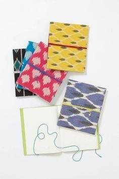 Clothbound Ikat Journal - Anthropologie.com