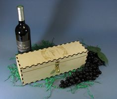 Personalized Engraved Ceremony Wine Box with by RaynorShineDesigns, $34.95