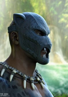 Black Panther was good! It also looked good, so I figured I'd showcase the work of a number of artists involved with the film's production, giving us a look at how the costumes and environments of Wakanda went from the drawing board to the big screen. Black Panther King, Black Panther Marvel, Marvel Vs, Marvel Heroes, Cartoon Drawings, Ink Drawings, Panther Pictures, Afro, Black Comics