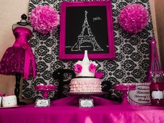 Paris Party Birthday Party Ideas | Photo 5 of 18