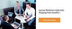 Lyoness: Vermarktung von Stammkundenbindungsprogrammen an KMU Partner, Benefit, Opportunity, Create Yourself, Company Logo, Marketing, Big, Shopping