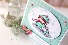 My Favorite Things Pure Innocence stamps - Card by Wanda Guess