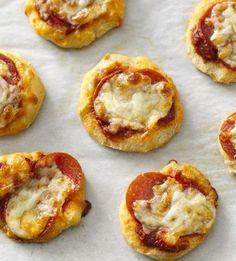 Flaky Biscuit Pizza Snacks