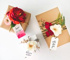 Beautiful Gift Wrapping Ideas