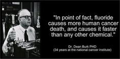 Fluoride - the killer in our water