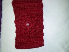 crochet headband/ ear warmer by PrincessGooGoo on Etsy, $10.00