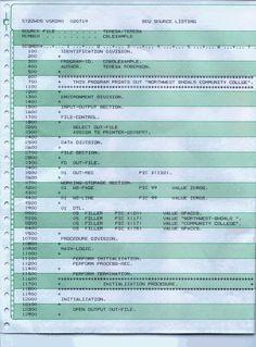 sample of the cobol language - Grace Hopper Resume Database