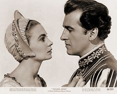 Photograph from Young Bess with Jean Simmons and Stewart Granger