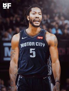 Derrick Rose Signs with Detroit Pistons James Golden, Rose Nba, Nba Chicago Bulls, Basketball Funny, Nba Sports, Indiana Pacers, Larry Bird, Derrick Rose, Detroit Pistons