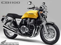 Honda CB1100 Custom Concept | 2016 = Back to the USA? | Honda-Pro Kevin