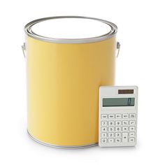 You've picked your color, but how many gallons will you need for your room? Calculate the wall area of the room; you'll need one gallon for 450 square feet. To determine the wall area, multiply the height of each wall by its width (don't subtract for doors and windows unless they take up more than half the wall); total the figures for the walls. Add 10 percent for future touch-ups. For two coats, double the number.
