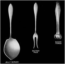Chicago Silver -- Servers and Utensils