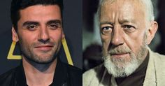 Oscar Isaac read out an 1976 letter from Sir Alec Guinness written during 'Star…