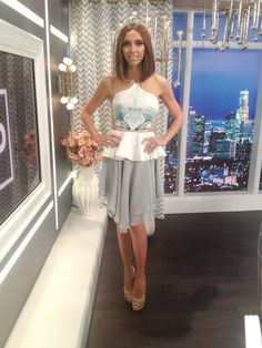 Giuliana Rancic in Peggy Hartanto 'Anther of Unseen' for Fashion Police