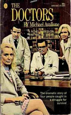 Image detail for -The DOCTORS 1970 TV Series tie-in book by Michael Avallone