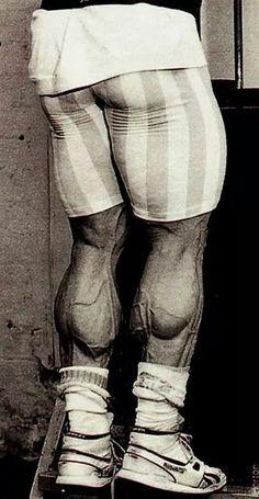 Dorian yates,calve workout