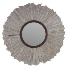 Wooden Mirror | Overstock.com Shopping - Great Deals on Urban Trends Collection Mirrors
