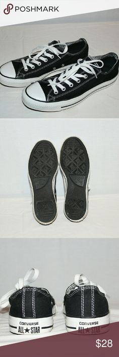 Canvas Converse All Stars Converse All Stars, sized specifically for women, great condition, with little to no wearing on the soles, Canvas has no tears or distressing. Converse  Shoes Sneakers