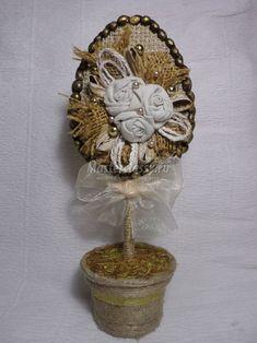 Sisal, Easter Crafts, Jute, Diy And Crafts, Burlap, Crochet Earrings, Birthdays, Clock, Spring