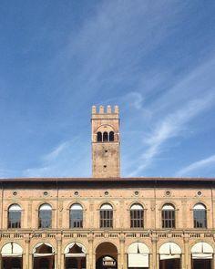 Medieval facade.  #Bologna by sanjeye.silva
