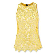 sunny yellow lace