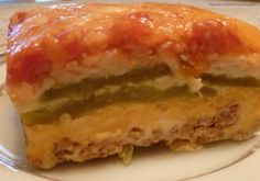 Chili Relleno Casserole 2 (7 ounce) cans whole green chile peppers, drained 8 ounces Monterey Jack cheese, shredded 8 ounces Longhorn or Cheddar cheese, shredded 2 eggs, beaten 1 (5 ounce) can...