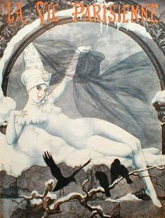 Chéri Hérouard (1881 - 1961). La Vie Parisienne, January 1926. [Pinned 22-xii-2014]