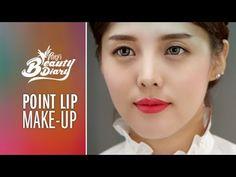 Pony's Beauty Diary - Lip point makeup 천송이, 장신위안 커버메이크업 (with subs)