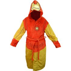 Marvel Hooded Iron Man Robe - RB-00247 from Superheroes Direct