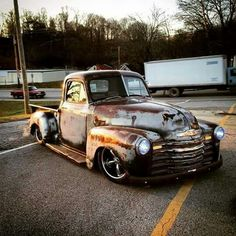 Low and rusty