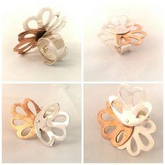 Silver copper ring