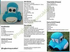 Amigurumi toy blue car model told construction - vip photography Crochet Car, Crochet Gratis, Crochet For Boys, Crochet Doll Pattern, Crochet Toys, Crochet Patterns, Amigurumi Toys, Amigurumi Patterns, Amigurumi For Beginners
