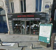 MSM Ozel France 73 rue Réaumur, 75002 Paris – M° Réaumur-Sébastopol/Sentier Laura Lee, Mercerie Paris, Points, Boutiques, Fabrics, France, Crochet, Tents, Buy Fabric Online