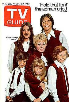 YouRememberThat.Com - Taking You Back In Time... - Partridge Family TV Guide Cover