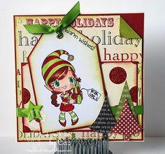 some odd girl christmas | some odd girls christmas card | Todays Some Odd Girl card features ...