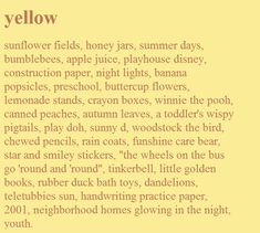 Image about cute in 💛Yellow 💛 by ·satune· on We Heart It - Gelb Sunflower Fields, Yellow Sunflower, Banana Popsicles, Was Ist Pinterest, Canned Peaches, Crayon Box, Happy Colors, Mellow Yellow, Baby Yellow