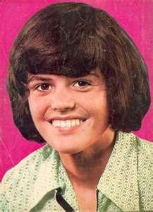 remember Donny Osmond???? Puppy Love....