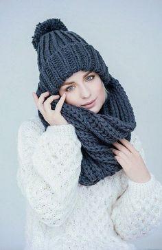 Favorite Knit Slouchy Hat  70+ Great Hat Patterns Ideas. Связанная Крючком  Громоздкая ШапочкаВязаные ... 63137d133ab6f