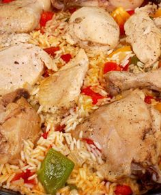 Carnival Chicken with Peppers and Rice - kidney friendly Davita Recipes, Kidney Recipes, Diet Recipes, Cooking Recipes, Healthy Recipes, Kidney Foods, Chicken Recipes, Chicken Meals, Turkey Recipes