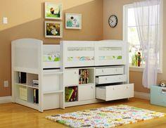 Home Design Ideas Kids Loft Bed With Storage Beds Home Design Ideas