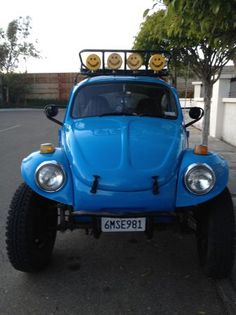 Bad ass Vw baja bug