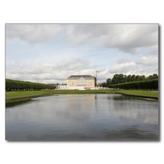 Augustusburg Palace Reflection Pond Post Card #postcrossing