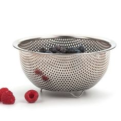 RSVP Endurance Precision Pierced Stainless Steel Berry Colander...  Amazon.com    ~XOX  #MaMasKitchenWishes