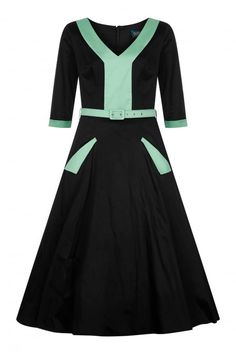 Collectif Mainline Stella Swing Dress - Collectif Mainline from Collectif UK