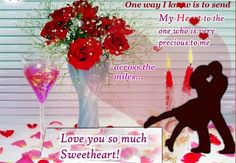 On this #Online #Romance #Week make a swift click to the thoughts of your sweetheart across the miles just to say how much you Love him/her. Click onto the world of amazing expressions of emotion www.123greetings.com.
