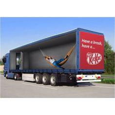 Kit Kat Truck wrap